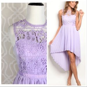 Dresses & Skirts - Lily Lilac High-Low Spring Formal Dress